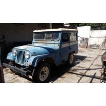 Jeep Ika Corto Carrosado Con Papeles
