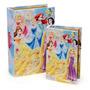 Jogo De Caixa Organizadora Formato De Livro Princesas Disney