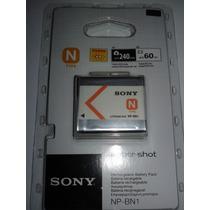 Bateria Sony Lithium Ion Cyber Shot Np - Bn1 Câmera