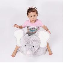 Asiento Sillon Puf Bebe Niño Oso Elefante Peluche Decorativo