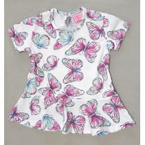 Remera Beba Estampada Mariposas Baby Skin - Regalo Navidad!