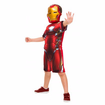 Fantasia Infantil Homem De Ferro Vingadores Original P M G