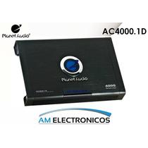 Amplificador Planetaudio Ac4000.1d Monoblock 4000wats