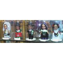 Figuras Con Trajes Tipicos Mexicanos Miniaturas, Regionales