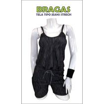 Bragas, Enterizos, Tela Tipo Jeans...!!