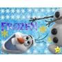 Kit Imprimible Frozen Invitaciones Candy Bar Cumples Olaf