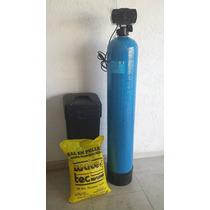 Suavizador De Agua 10x54 Resina Dow Valvula Automatica Promo