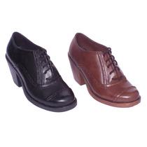 Zapatos - Botines - Botas - Calzado De Mujer Modelo Oxford