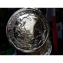 Escudo Mexico Aguila Dorado Decoracion Fiestas Patrias Termo