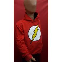 Buzo Canguro Infantil Flash Super Oferta Comics