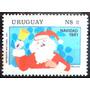 Osl Sello 1096 Uruguay Navidad 1981