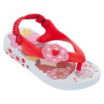Chinelo Moranguinho Baby Vermelho Grendene