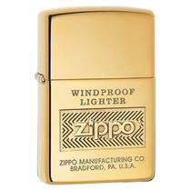 Encendedor Zippo Original Dorado Antiguo Coleccion Cigarro