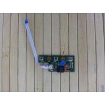 Placa Botão Power Notbook Cce Info Ncv C5h6f