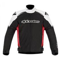 Jaqueta Masculina Para Moto Alpinestars Alux Wp Impermeavel