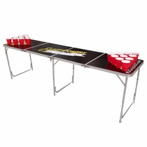 Mesa Beer Pong Facil Guardado Plegable Portatil Ping Pelotas