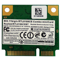 Rtl8188ce Placa Wireless Realtek Para Notebook - C/ Nfe