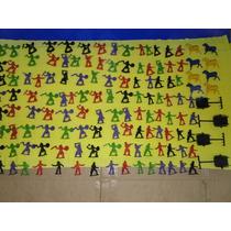 Lote Com 119 Indios & Cowboys 4 Carroça & 8 Cavalos