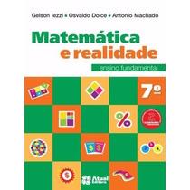 Livro Matemática E Realidade Ensino Fundamental 7º Ano