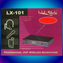 Micrófono Inalambrico Luxell Lx 101