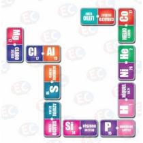 Edu-139 Domino Tabla Periódica Quimica 28 Piezas 4+ Eduplas