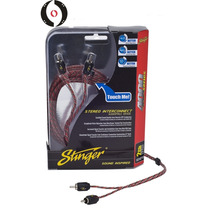 Stinger Cable Rca Si423 Series 4000 2ch 3ft
