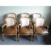 Sillas luis xv usadas sillones usado antiguos en for Juego de sillones usados