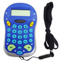 Calculadora Eletrônica Com Cordão Básica De Bolso 8 Digitos
