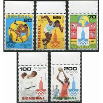 1341 Olimpiadas 80 Moscou Senegal 5 S Mint N H 1980