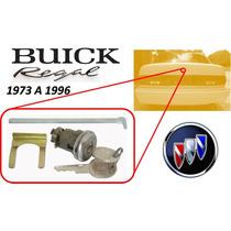73-96 Buick Regal Chapa Para Cajuela Con Llaves Cromado
