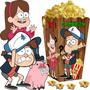 Kit Imprimible Gravity Falls Cotillon Y Candy Bar Y+ 2x1