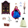Anna Elsa Bonecas 2 Guarda Roupas Disney Frozen Br