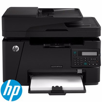 Impressora Laser Hp Pro Mfp M127fn Multfuncional 110v Ou 220