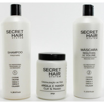 Mega Promoção Kit Progressiva Secret Hair System