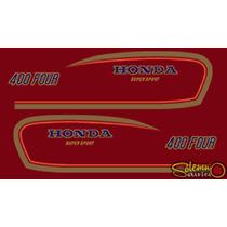 Calcos Honda Cb 400 Todos Los Modelos Graficas Decals