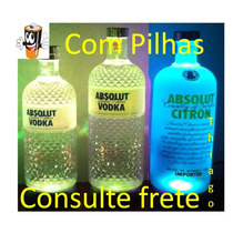 Base Led Para Garrafas Absolut Grey Goose Ciroc Smirnoff