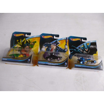 Hotwheels Coleccion De 3 Pzs Batman,robin, El Pinguino Auto