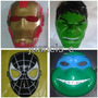 Mascaras Superheroes Hulk Iron Man Spiderman Batman