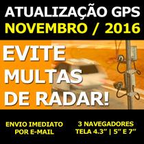 Atualização Gps Novembro 2016 Igo Primo Amigo Mapas E Radar
