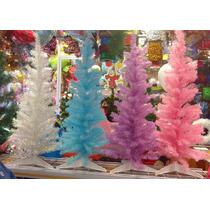 Arbol De Navidad Fantasia 1 Mt Colores Pastel Janel Super