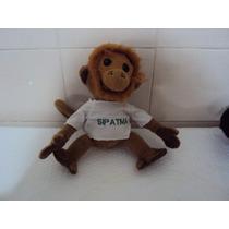 Boneco De Pelúcia Antigo Macaco Samar