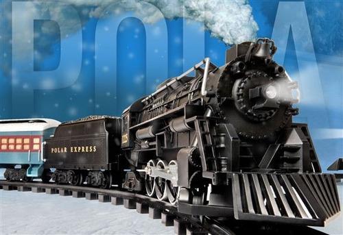 Tren polar expresso lionel g gauge escala luz sonido vias for Expreso polar
