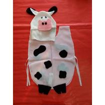 Disfraz Vaca Animales Animalitos Niños Fiesta Concert