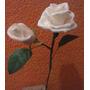 Rosa E Botão De Biscuit Feita À Mão, Lembranças Casamentos