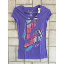 Camiseta Aeropostale Feminina Moletom Hollister Blusa Tommy