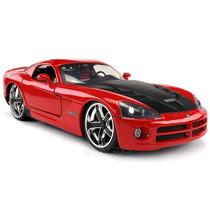 Dodge Viper Srt10 2008 Vermelho Jada Toys 1:24