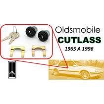 65-96 Oldsmobile Cutlass Chapas Puertas Llaves Color Negro
