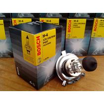 Lampada H4 12v 100/90w Bosch Original Usar Rele Duplo Farol