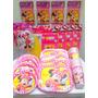 Paquete Plus 2 De Minnie Mouse, Desechables Fiesta.