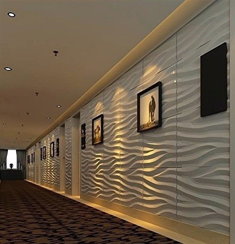 Revestimiento para paredes 3d modelo lanos 3decowall for Revestimiento de paredes para duchas